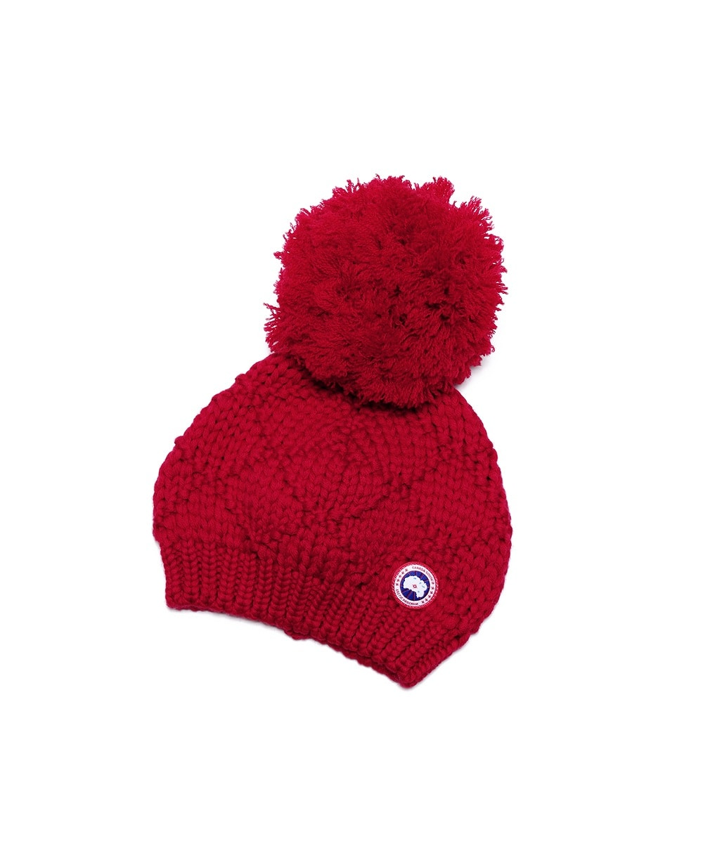 LADIES OVERSIZED POM TOQUE
