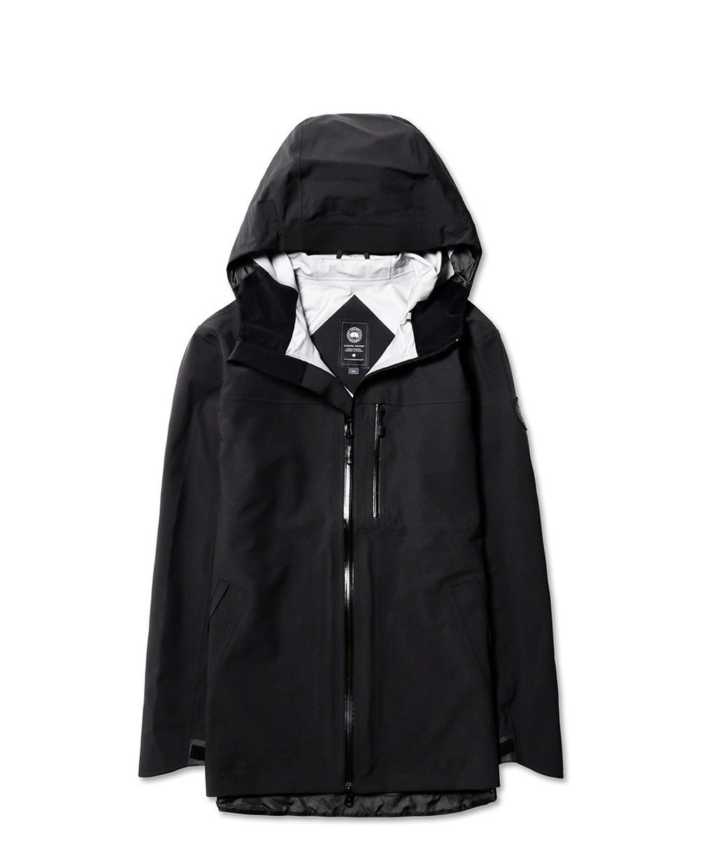 COASTAL SHELL JACKET BLACK LABEL