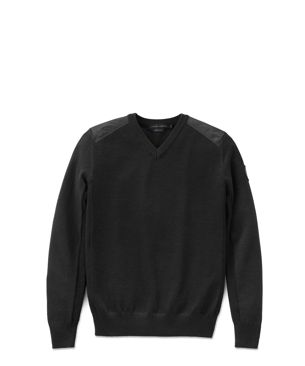 MCLEOD V NECK SWEATER