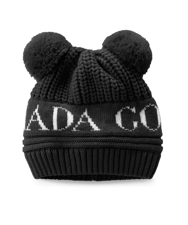 BABY DOUBLE POM HAT