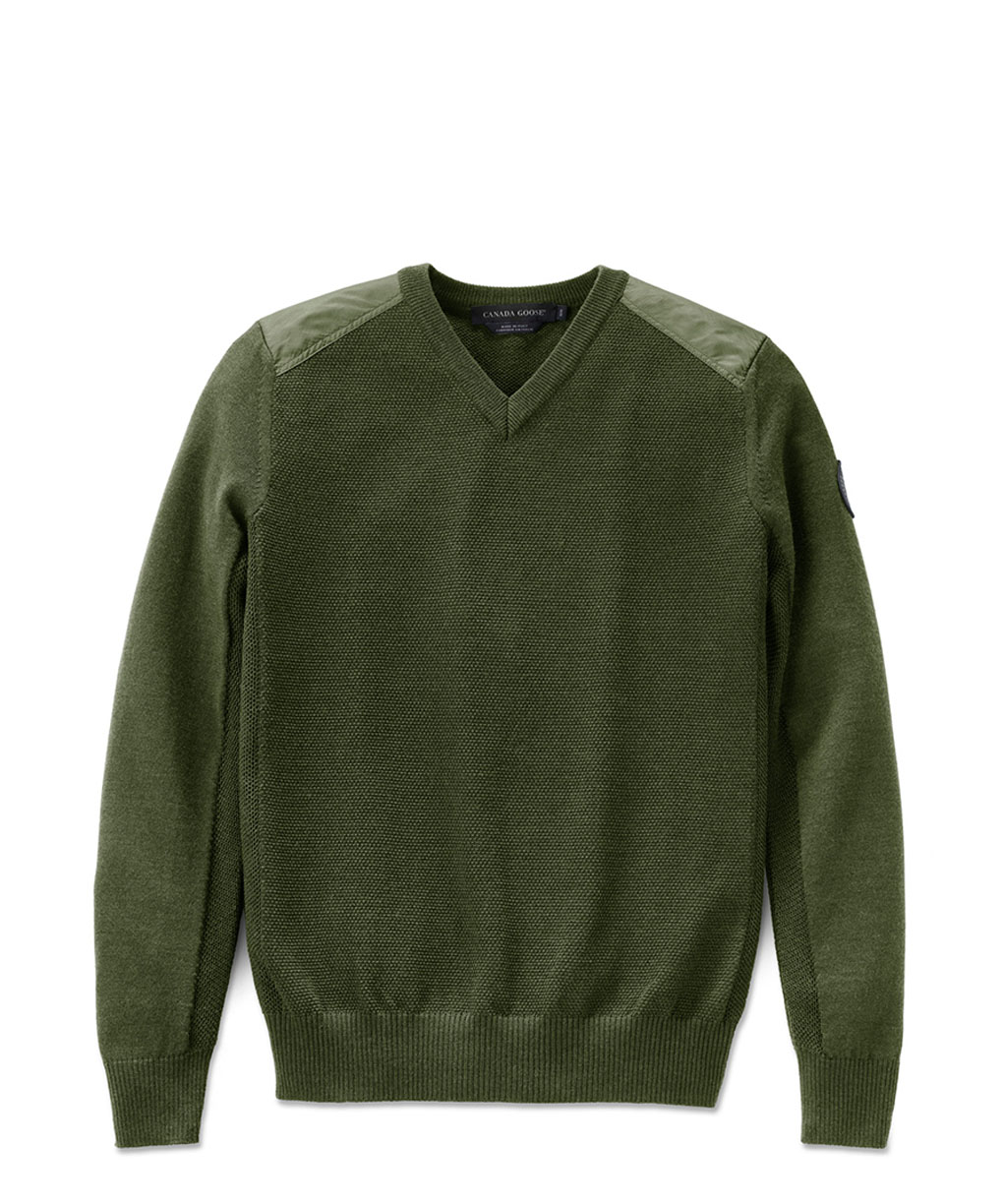 MCLEOD V NECK SWEATER (M)